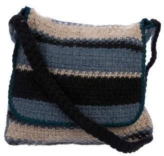 Missoni Striped Knit Hobo