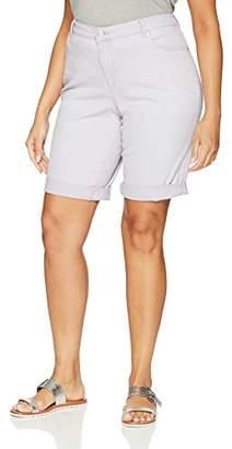 Bandolino Women's Plus-Size Riley Relaxed Fit Bermuda Short