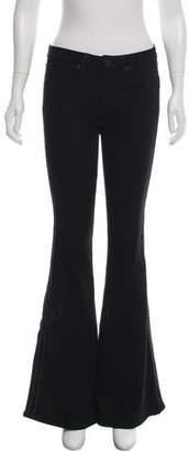 Hudson Mid-Rise Wide-Leg Jeans