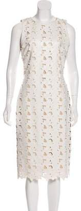 Alice + Olivia Sleeveless Midi Dress