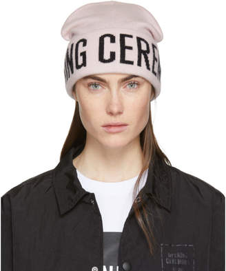 Opening Ceremony Pink Logo Beanie