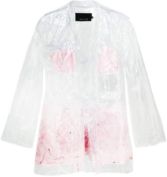 clear Neith Nyer Mariah Feather coat