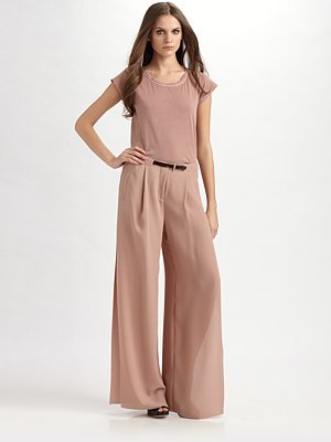 Side-Slit Trousers