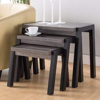 Foundry Select Busse Modern 3 Piece Nesting Tables