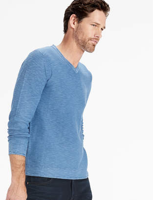 Lucky Brand WELTERWEIGHT V NECK SWEATER