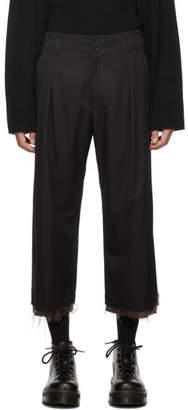 Sulvam Black PT Trousers