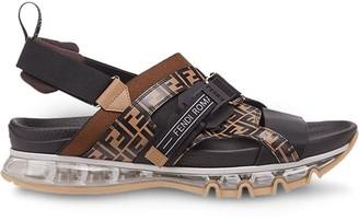 Fendi FF buckle sandals