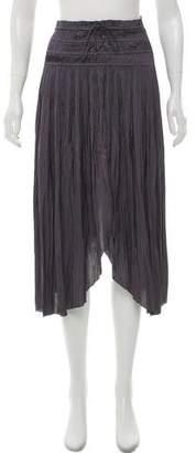 Ulla Johnson Plisse Midi Skirt