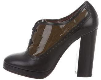 Marc by Marc Jacobs High-Heel Round-Toe Booties