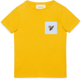 Children's cotton t-shirt with bee $145 thestylecure.com