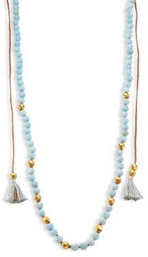 Chan LuuChan Luu Tasseled Amazonite Long Necklace