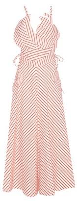 Tutti Frutti Striped Linen And Cotton Dress