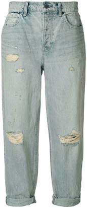 Alexander Wang distressed boyfriend jeans