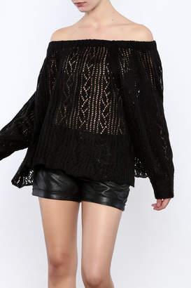 Muche et Muchette Off Shoulder Sweater