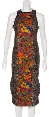 Max Mara Printed Sheath Dress