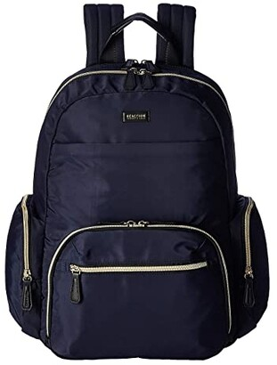 Kenneth Cole Reaction Nylon RFID Laptop Computer Backpack