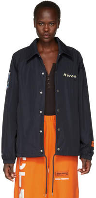 Coach Heron Preston Blue Style Jacket