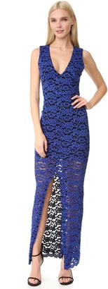 alice + olivia Kahlo V Neck Dress $375 thestylecure.com