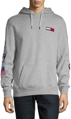 Tommy Hilfiger Logo Drawstring Hoodie