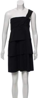Robert Rodriguez One Shoulder Mini Dress