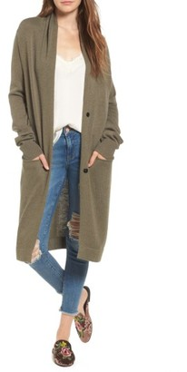 Women's Leith Shawl Collar Cardigan $79 thestylecure.com