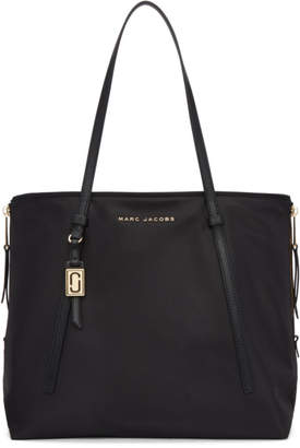 Marc Jacobs Black Zip That Shopper Tote