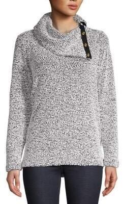 Calvin Klein Knit Foldover Sweater