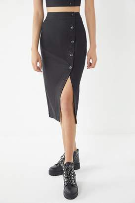 Urban Outfitters Amanda Button-Down Midi Skirt