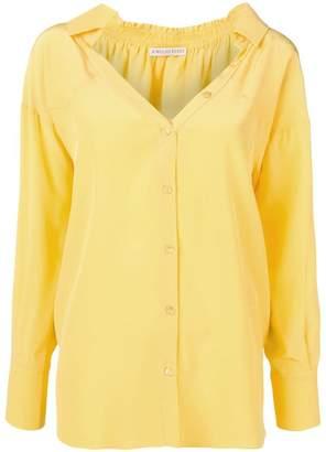 Emilio Pucci oversized V-neck shirt