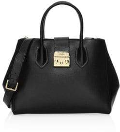 Furla Medium Metropolis Leather Tote