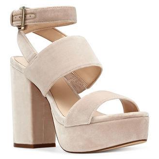 Kelso Platform Sandals $99 thestylecure.com