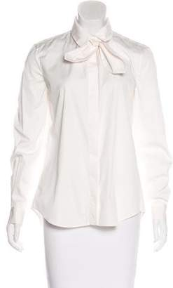 Isa Arfen Long Sleeve Button-Up Top