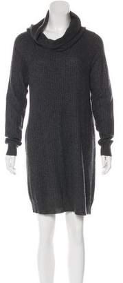 White + Warren Cashmere Long Sleeve Mini Dress w/ Tags