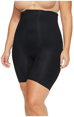 Spanx Plus Size Power Conceal-Her High-Waisted Mid-Thigh Short