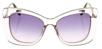 Derek Lam Clara Oversize Sunglasses
