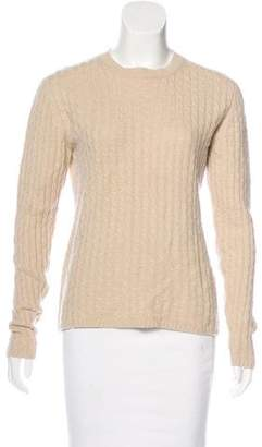 TSE Long Sleeve Cable-Knit Sweater