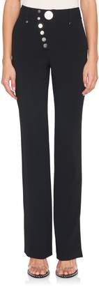 Alexander Wang Wide Leg Button-Up Trouser