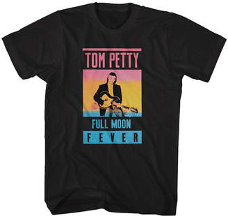 Novelty T-Shirts Tom Petty Full Moon Fever Graphic Tee