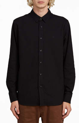 Volcom Oxford Stretch Button Up Shirt