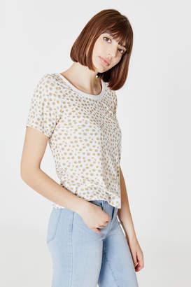Ardene Floral Back Strap T-shirt