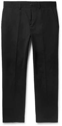 Burberry Slim-Fit Tapered Cotton-Blend Twill Chinos