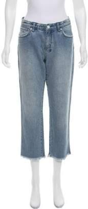Ksubi Distressed Mid-Rise Jeans