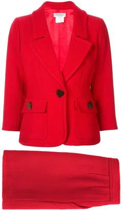 68363300360 Saint Laurent Pre-Owned jacket and skirt suit