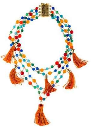 Rosantica Tassel Beaded Necklace