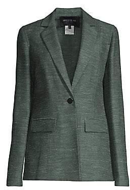 Lafayette 148 New York Women's Marris Linen & Silk-Blend Jacket - Size 0