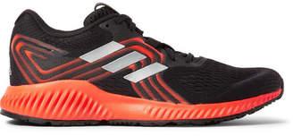 adidas Sport - Aerobounce Mesh Running Sneakers - Black