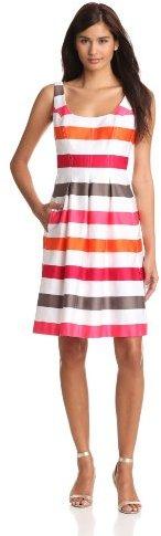 Nine West Dresses Women's Stripe Fit ...