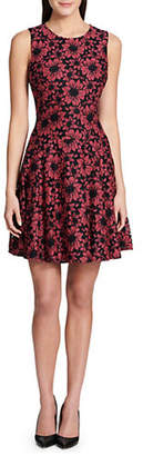 Tommy Hilfiger Lace Fit-and-Flare Dress