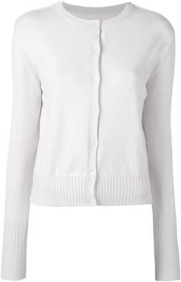 Maison Margiela cashmere round neck cardigan