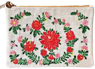 Clare Vivier Mexican Embroidered Clutch